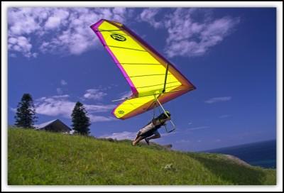 Hang Glider » Airborne
